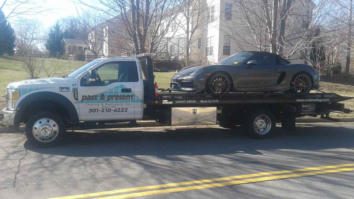 Exotic Car Towing Laurel